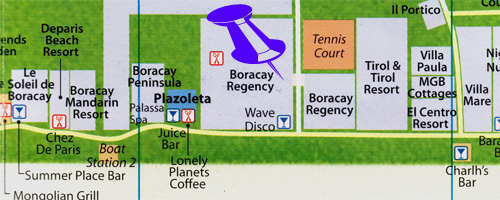 maps for boracay regency